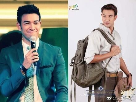 泰国男星剃度出家 身高183长相出众还获选为2015年度最想拥抱男艺人