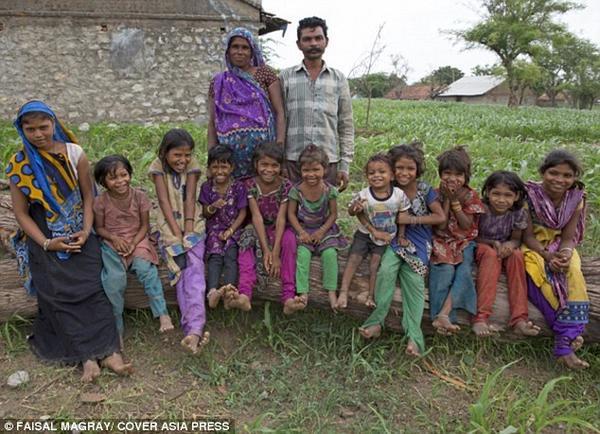 印度生11胞胎_太厉害了吧!俄罗斯女子40年生69个子女 破世界纪录 生下四对四 ...
