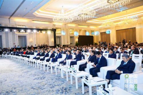 锐雅(中国)出席2020中国绿公司年会