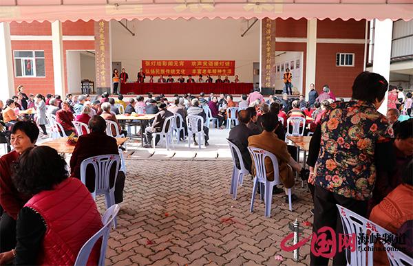漳州开发区:300位老人共度元宵佳节