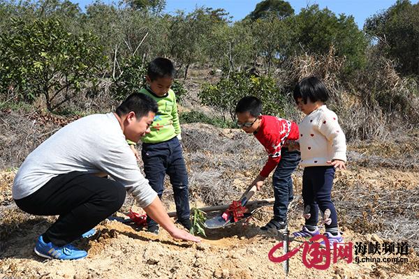 漳州开发区: 80户家庭同植千株桃树