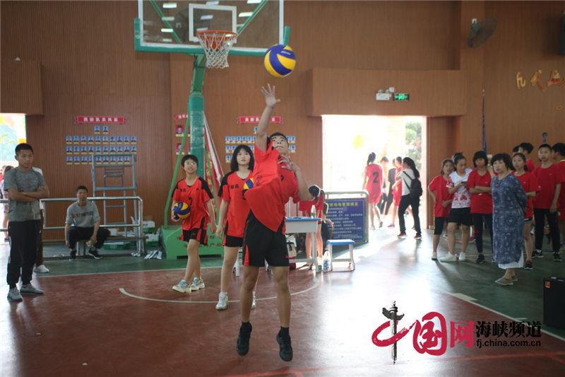 福建校外气排球夏令营开营 21支队伍参与