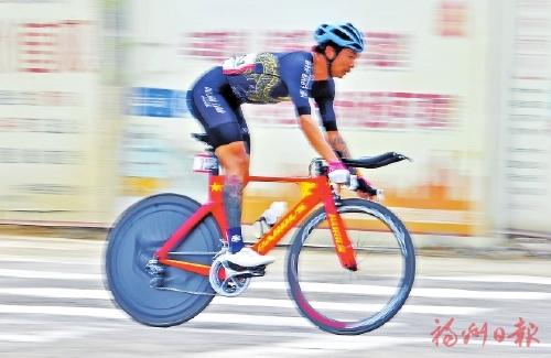 亚运会公路自行车选拔赛 在永泰举行