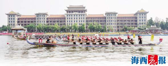两岸龙舟赛圆满落幕 台湾健儿卫冕集美妹子夺冠