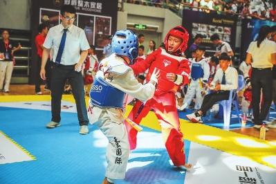 全球华人跆拳道公开赛晋江落幕