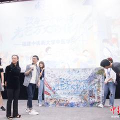 青春动画电影《昨日青空》福州路演 还原青涩含蓄的校园情感