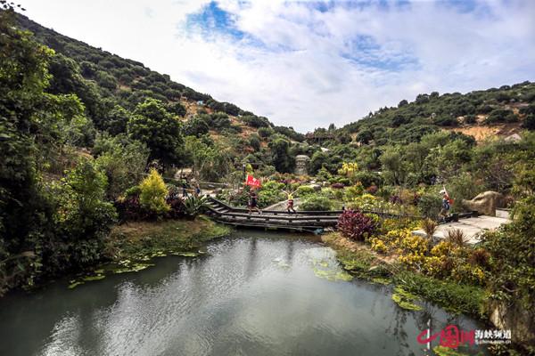 漳州开发区:中国山地马拉松赛道新增景观驿站??提升赛道颜值