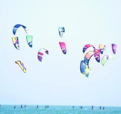 国际风筝板公开赛东山开赛