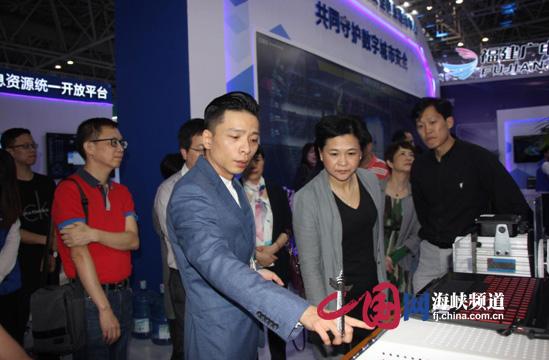 瑞森网安携自有核心知识产权网安芯片亮相数字中国峰会