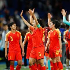 【女足世界杯】B组:中国队战胜南非队