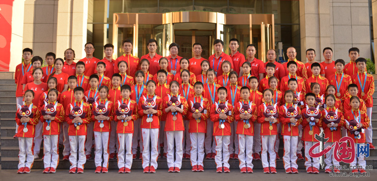 第二届全国青年运动会蹦床比赛落幕 福建队硕果累累