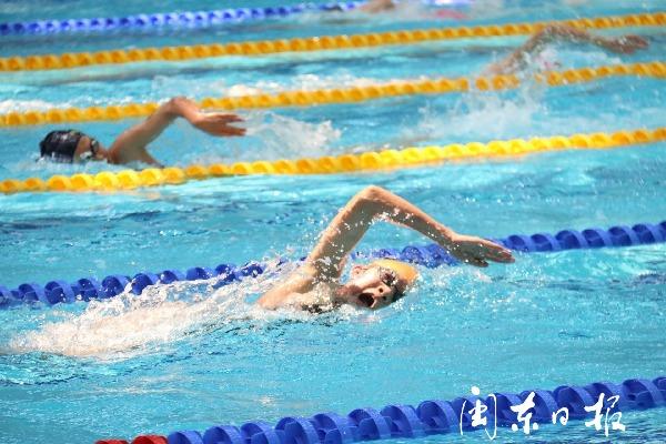 2019年福建省青少年游泳锦标赛在霞浦县游泳馆开赛