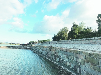 海岸長城——鎮海堤