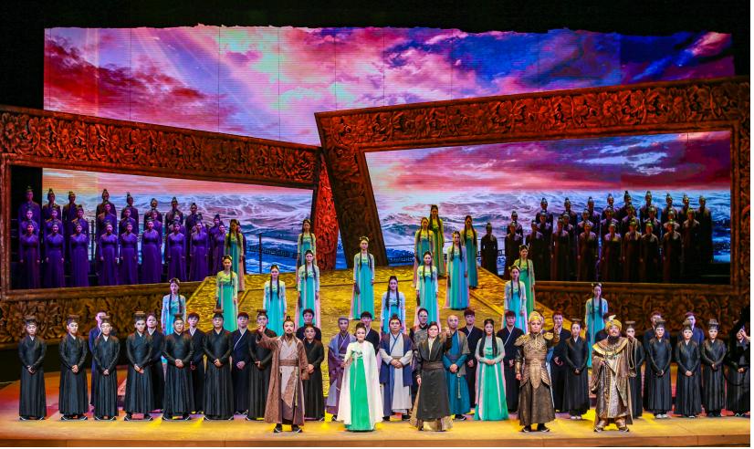 第四届海上丝绸之路国际艺术节开幕 泉州元素世界瞩目