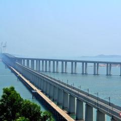平潭海峡公铁两用大桥启动首轮精调施工