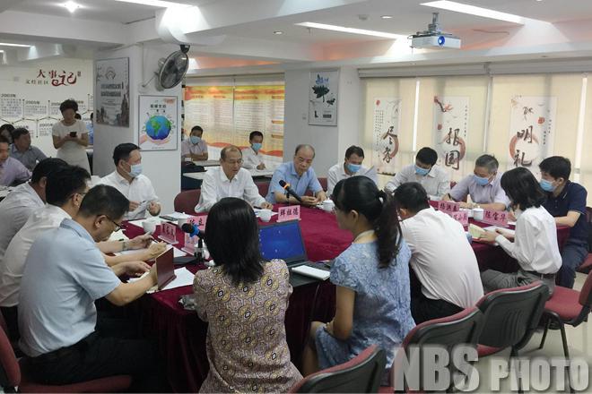 国家统计局党组成员、副局长鲜祖德在厦门调研指导第七次全国人口普查工作